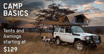 Camp Basics: Tents & Awnings