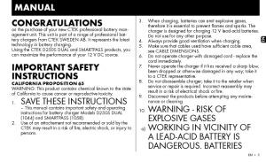 Installation instructions for ECOM012