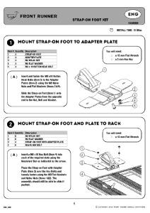 Installation instructions for FAGO002