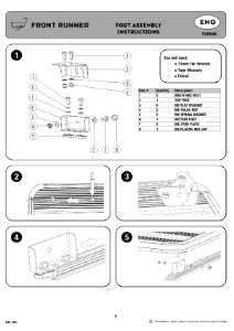 Installation instructions for FASS003