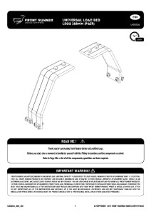 Installation instructions for LASS026
