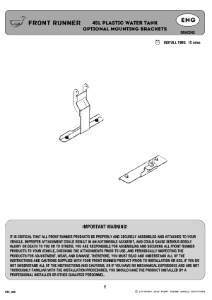 Installation instructions for RRAC042