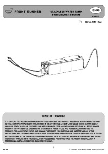 Installation instructions for WTAN037