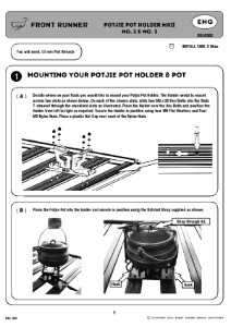 Installation instructions for RRAC062