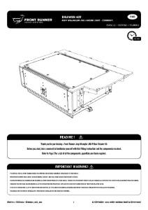 Installation instructions for SSJW002