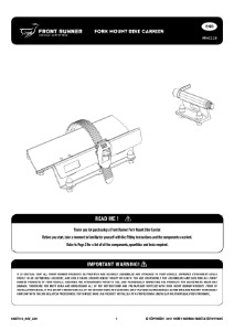 Installation instructions for RRAC118