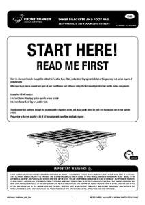 Installation instructions for FAJK006
