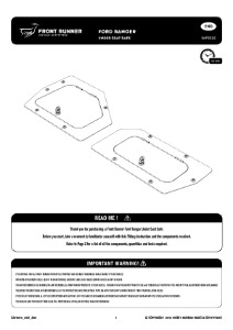 Installation instructions for SAFE010
