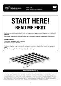 Installation instructions for FANN002