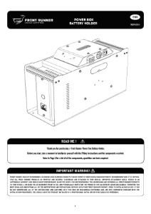 Installation instructions for BBRA004