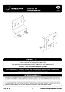 Installation instructions for LASS031