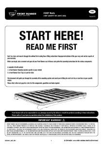 Installation instructions for FAJL001