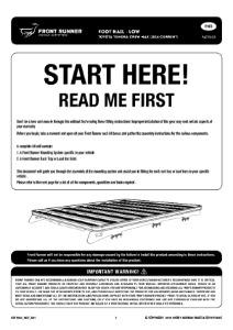 Installation instructions for FATT003