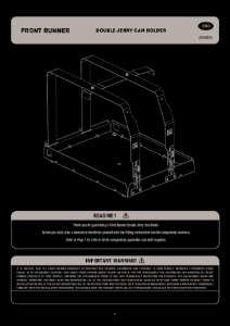 Installation instructions for JCHO014