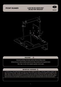 Installation instructions for BBLD004