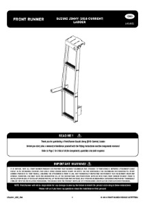 Installation instructions for LASJ001