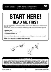 Installation instructions for FAJT001