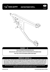 Installation instructions for RBLD004