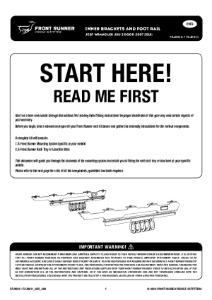 Installation instructions for FAJK010