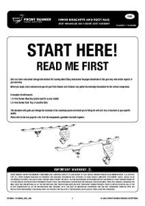 Installation instructions for FAJK007