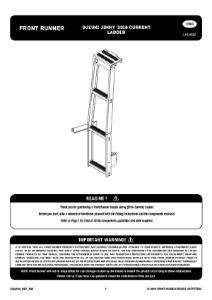 Installation instructions for LASJ002