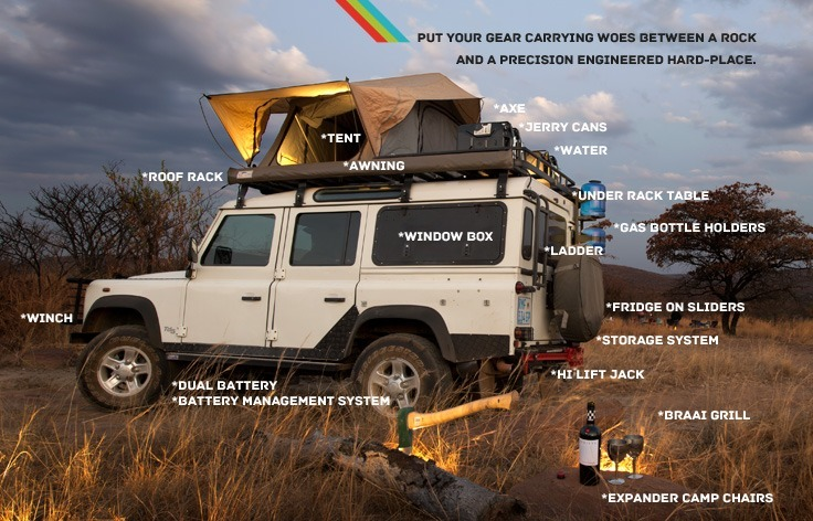 Land Rover Defender Kitted Out